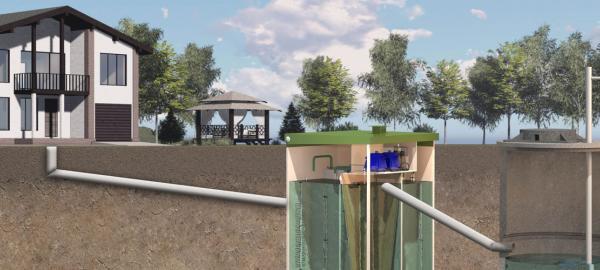 Монтаж системы очистки сточных вод ТОПАС, выполним установку в Московской области под ключ